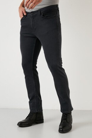 Buratti - Buratti Jeans Erkek Kot Pantolon 2001S282PARMA FÜME