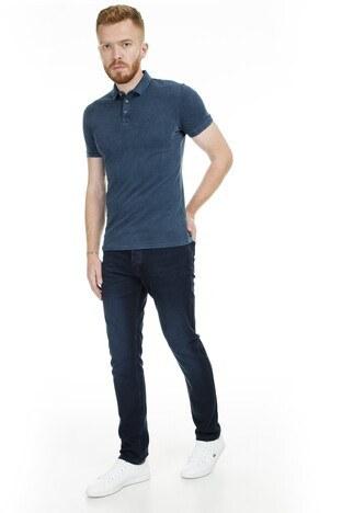 Buratti - Buratti Jeans Erkek Kot Pantolon 497ARON911 KOYU LACIVERT