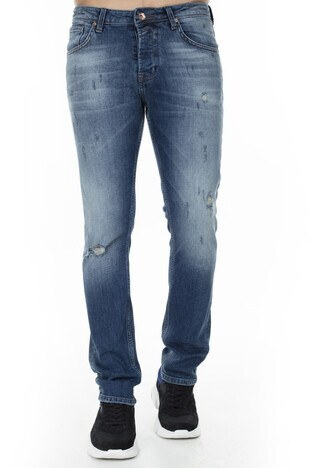 Buratti Jeans Erkek Kot Pantolon 7130F1201ARTOS MAVİ
