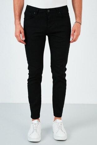 Buratti Pamuklu Skinny Fit Dar Paça Jeans Erkek Kot Pantolon 7535E222BARTEZ SİYAH