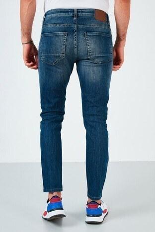 Buratti Pamuklu Skinny Fit Dar Paça Jeans Erkek Kot Pantolon 7535F240BARTEZ MAVİ