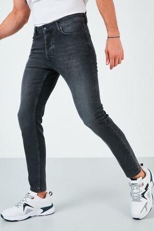 Buratti Pamuklu Skinny Fit Dar Paça Jeans Erkek Kot Pantolon 7535S212BARTEZ SİYAH