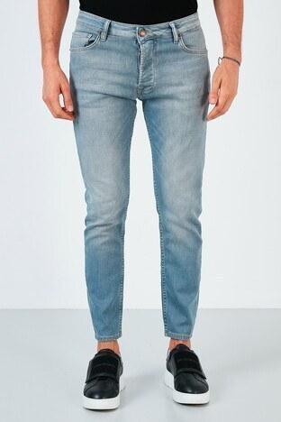 Buratti Pamuklu Skinny Fit Dar Paça Jeans Erkek Kot Pantolon 7535U251BARTEZ AÇIK MAVİ