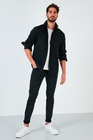 Buratti - Buratti Pamuklu Regular Fit Jeans Erkek Kot Pantolon 7537H714ZAGOR ANTRASİT