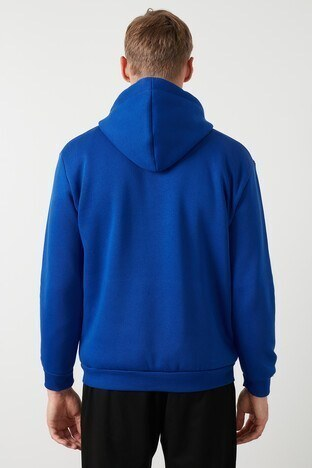 Buratti Kanguru Cepli Şardonlu Extra Slim Fit Kışlık Erkek Sweat 5827002 SAKS
