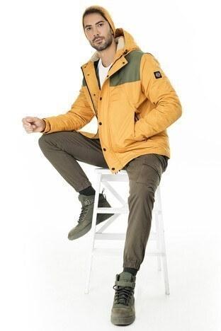Buratti Kapüşonlu Ekstra Slim Fit Erkek Mont 45619K7832 HARDAL