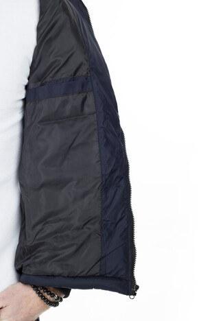 Buratti Kapüşonlu Slim Fit Şişme Erkek Mont 55618K5029 LACİVERT