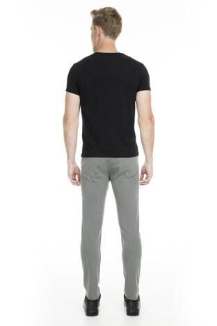 Buratti Normal Bel Dar Kesim Dar Paça Jeans Erkek Kot Pantolon 7197F0283ARTOS GRİ