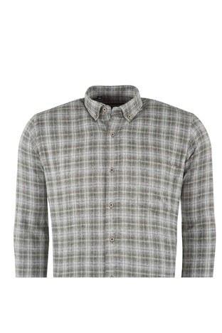 BURATTI ODUNCU Erkek Uzun Kollu Gömlek 1942024 YEŞİL