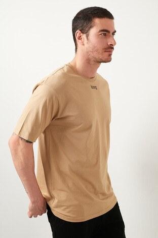 Buratti - Buratti Erkek T Shirt 5721015 VİZON
