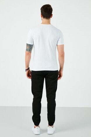 Buratti Pamuklu Belden Bağlamalı Slim Fit Erkek Pantolon 7512H046JORDAN SİYAH