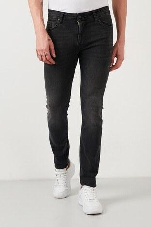Buratti - Buratti Pamuklu Regular Fit Jeans Erkek Kot Pantolon 7505S965ZAGOR SİYAH