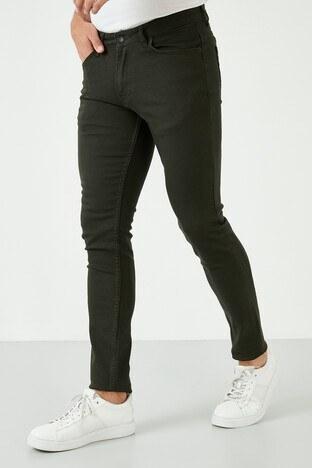 Buratti Pamuklu Regular Fit Jeans Erkek Kot Pantolon 7537E215ZAGOR KOYU HAKİ