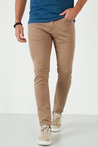 Buratti - Buratti Pamuklu Regular Fit Jeans Erkek Kot Pantolon 7537E217ZAGOR TOPRAK