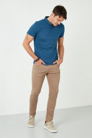 Buratti Pamuklu Regular Fit Jeans Erkek Kot Pantolon 7537E217ZAGOR TOPRAK