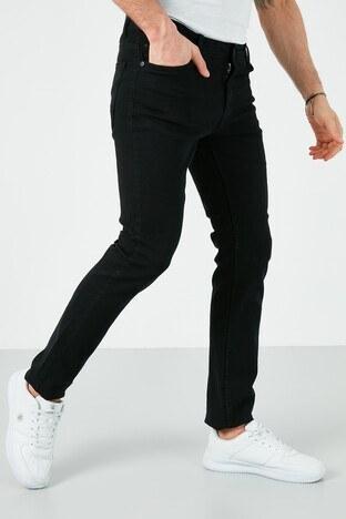 Buratti - Buratti Pamuklu Slim Fit Dar Paça Jeans Erkek Kot Pantolon 7508E222NEWARTOS SİYAH