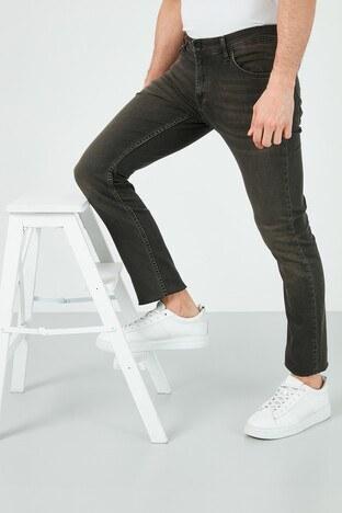 Buratti - Buratti Pamuklu Slim Fit Dar Paça Jeans Erkek Kot Pantolon 7508H221NEWARTOS HAKİ