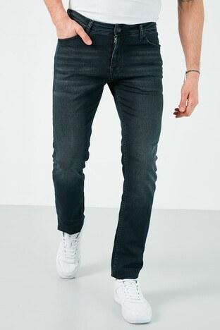 Buratti - Buratti Pamuklu Slim Fit Dar Paça Jeans Erkek Kot Pantolon 7508H715NEWARTOS LACİVERT