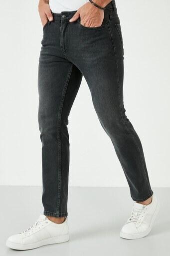 Buratti Pamuklu Slim Fit Dar Paça Jeans Erkek Kot Pantolon 7536S212NEWARTOS SİYAH