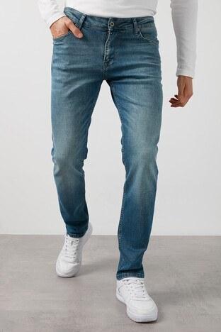 Buratti Pamuklu Yüksek Bel Dar Kesim Jeans Erkek Kot Pantolon 7429F195NEWARTOS MAVİ