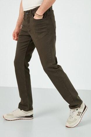 Buratti Pamuklu Yüksek Bel Regular Fit Jeans Erkek Kot Pantolon 7503E216KING HAKİ