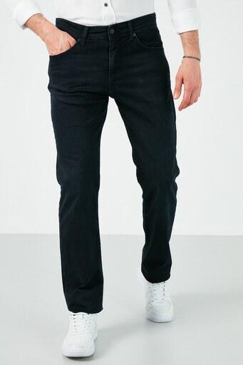Buratti Pamuklu Yüksek Bel Regular Fit Jeans Erkek Kot Pantolon 7504H898KING KOYU LACIVERT
