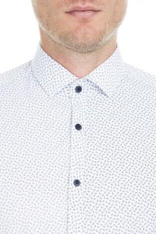 Buratti Polo Club Erkek Gömlek CF19S111693 BEYAZ