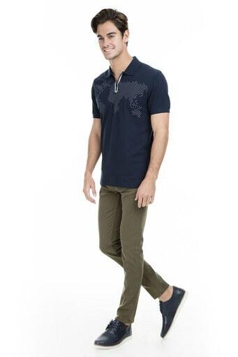 Buratti Polo Club Jeans Erkek Pamuklu Pantolon SENEGAL HAKİ