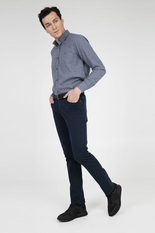 Buratti Polo Club - Buratti Polo Club Jeans Erkek Pamuklu Pantolon SENEGAL LACİVERT