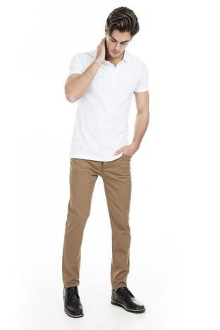 Buratti Polo Club - Buratti Polo Club Jeans Erkek Pamuklu Pantolon SENEGAL TOPRAK