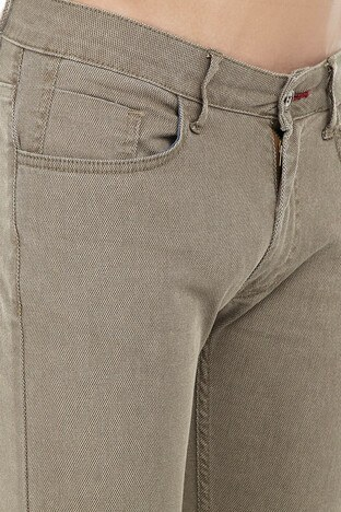 Buratti Polo Club Jeans Erkek Pamuklu Pantolon SULFUR CAMEL