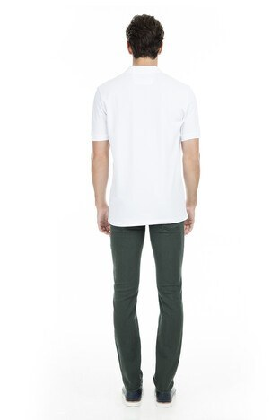 Buratti Polo Club Jeans Erkek Pamuklu Pantolon SULFUR KOYU YEŞİL