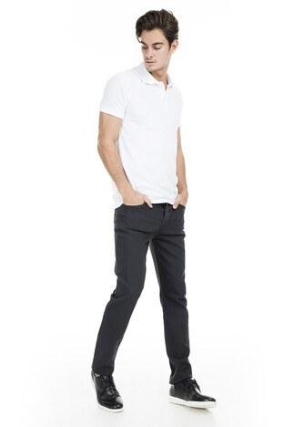 Buratti Polo Club - Buratti Polo Club Jeans Erkek Pamuklu Pantolon WOM ANTRASİT