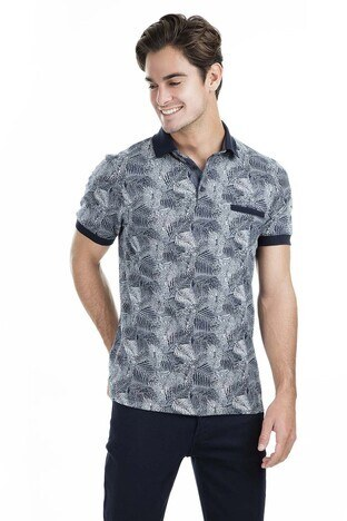 Buratti - Buratti Polo Erkek T Shirt 436190511 LACİVERT