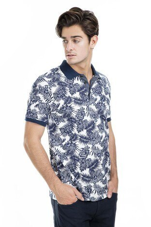 Buratti - Buratti Polo Erkek T Shirt 43619061 BEYAZ