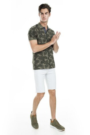 Buratti Polo Erkek T Shirt 43619061 HAKİ