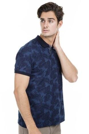 Buratti - Buratti Polo Erkek T Shirt 43619061 LACİVERT