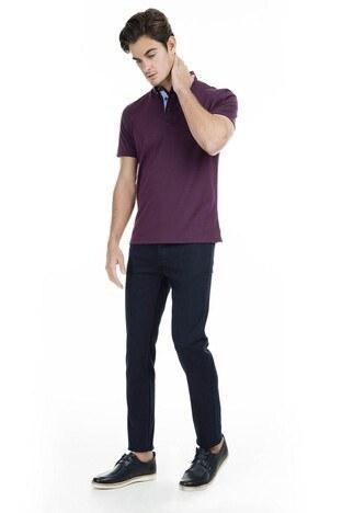 Buratti Polo Erkek T Shirt 43619063 BORDO