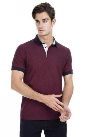 Buratti - Buratti Polo Erkek T Shirt 43619068 BORDO