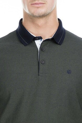 Buratti Polo Erkek T Shirt 43619068 HAKİ