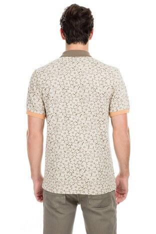 Buratti Polo Erkek T Shirt 43619069 BEJ
