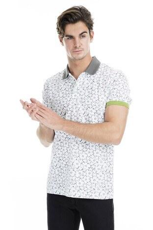 Buratti - Buratti Polo Erkek T Shirt 43619069 BEYAZ