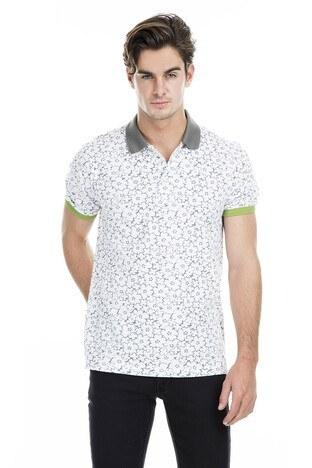 Buratti Polo Erkek T Shirt 43619069 BEYAZ