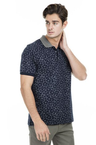 Buratti - Buratti Polo Erkek T Shirt 43619069 LACİVERT
