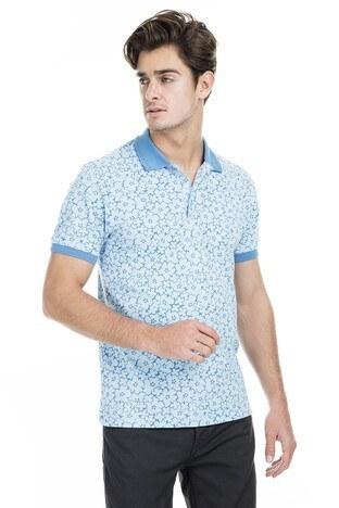 Buratti - Buratti Polo Erkek T Shirt 43619069 MAVİ