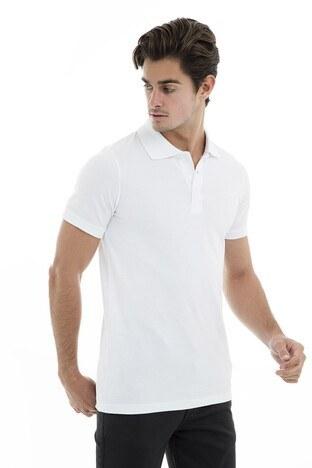 Buratti - Buratti Polo Erkek T Shirt 43619090 BEYAZ