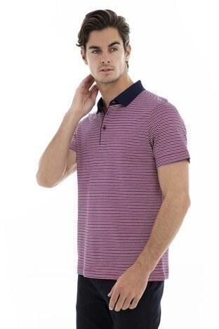 Buratti - Buratti Polo Yaka Erkek T Shirt 5911005 KIRMIZI