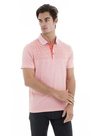 Buratti - Buratti Polo Yaka Erkek T Shirt 5911011 PEMBE