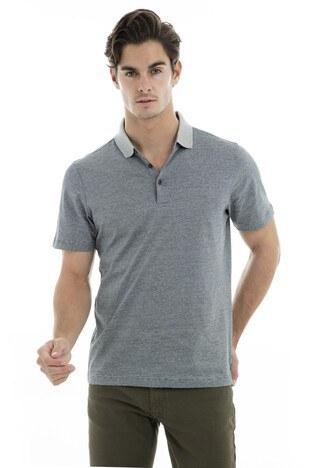 Buratti - Buratti Polo Yaka Erkek T Shirt 5911021 GRİ