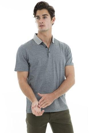 Buratti Polo Yaka Erkek T Shirt 5911021 GRİ